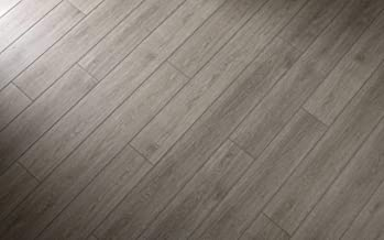 "Modin Rigid Vinyl Plank Flooring, Pre-Attached Underlayment, Click, 40 Mil Wear Layer, Arlo, 12"" Cut Sample"