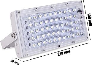 Gesto Metal 50 Watt 220-240V Waterproof Landscape IP65 Perfect Power LED Flood Light (White),Pack of 1
