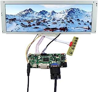 "VSDISPLAY 14.9"" 14.9 inch 1280X390 LCD Screen LTA149B780F with HDMI DVI VGA Audio LCD Controller Board M.NT68676, fit for Arcade Machines/DIY displays/Car Monitor/Digital Marquee/Gauge Cluster"
