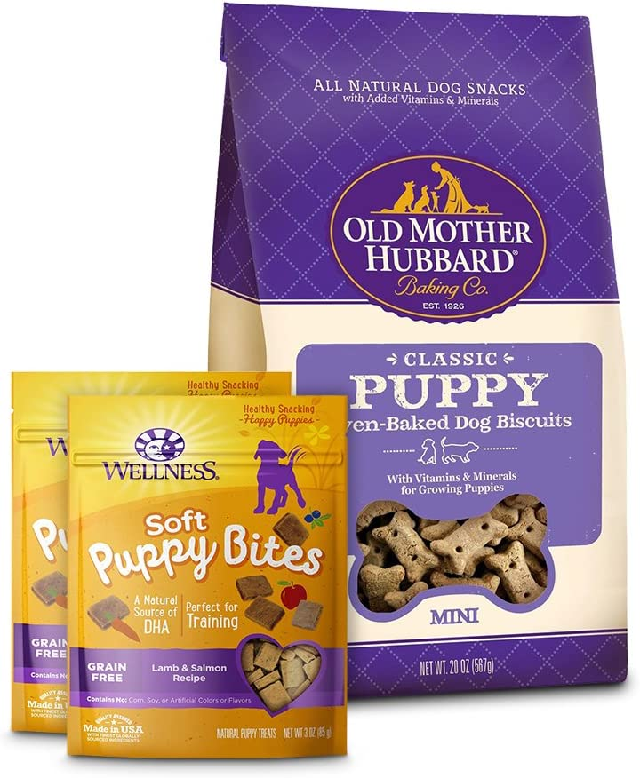 Wellness Soft Puppy Bites With Old Classic Max 80% OFF Super beauty product restock quality top! Hubbard Mother