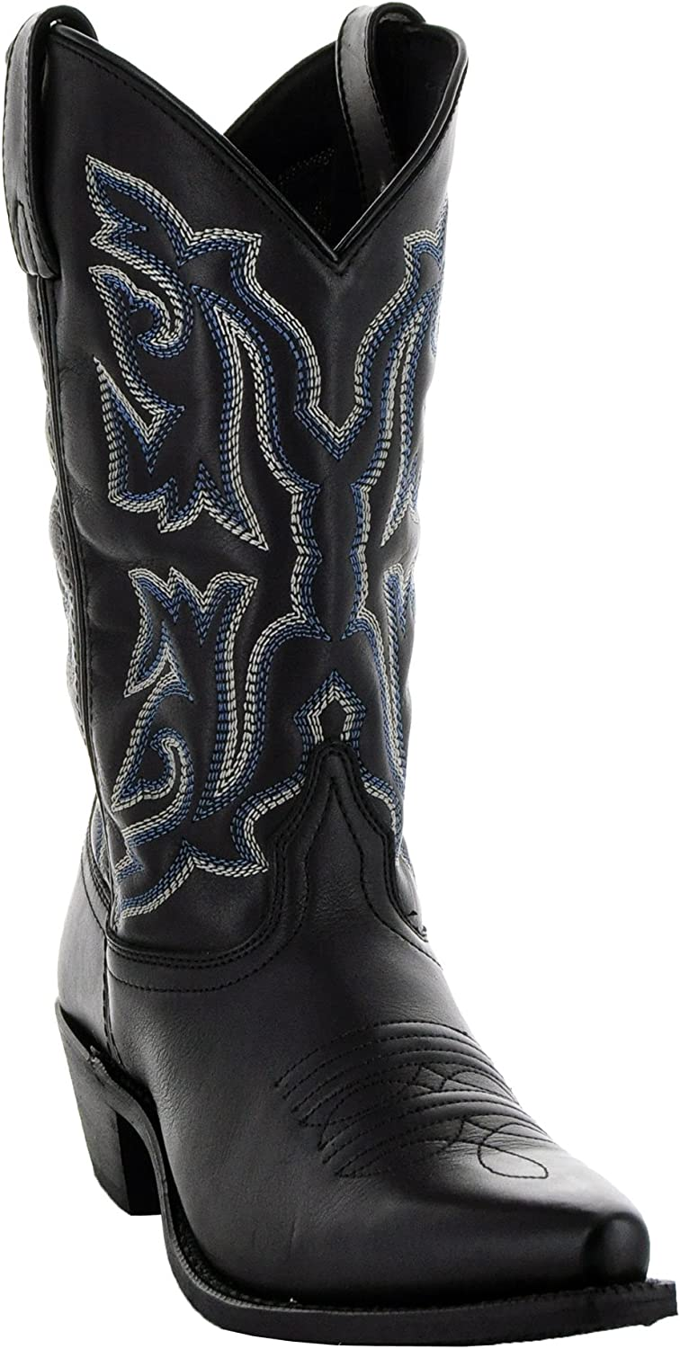 Soto Boots Women's Snip Toe Leather Cowgirl Boots M3002