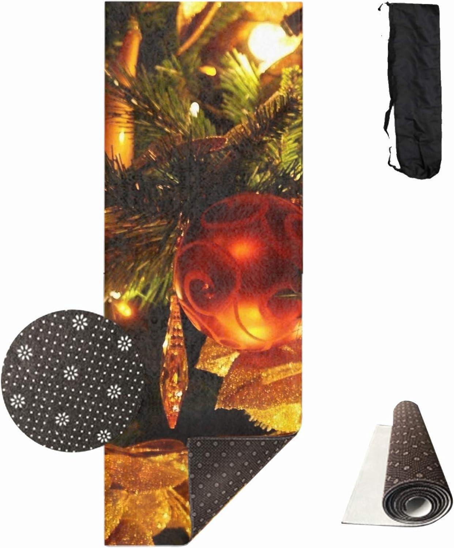 Natural Suede Christmas Toys Yoga MatsLuxury Eco Friendly Anti Slip Extra Thick Yoga Mat