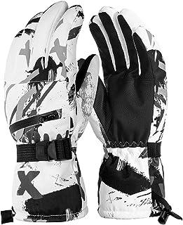 Winter Ski Gloves Men Women Waterproof Warm Touchscreen Thermal Windproof Motor
