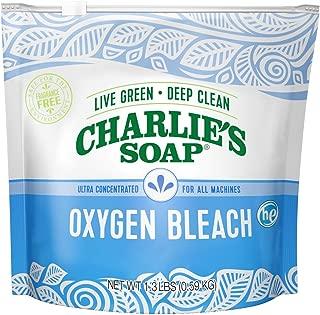 Charlie's Soap - Biodegradable Non-Chlorine Oxygen Bleach - 1.3 lbs (0.59 kg)