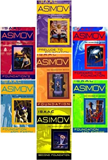 The Complete Isaac Asimov's Foundation Series Books 1-7 (Foundation, Foundation and Empire, Second Foundation, Foundation's Edge, Foundation and Earth, Prelude to Foundation, Forward the Foundation)
