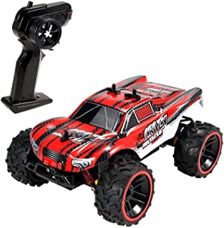 Geekper RC Cars for Kids S619 Remote Control Car 2.4 GHz PRO System RC Monster Truck 1:16 Scale Size Red