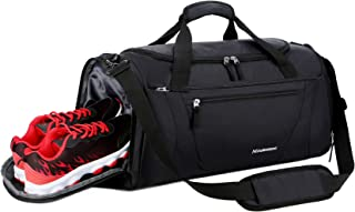 Gym Bag 40L Sports Travel Duffel Bag for Men and Women with Shoes Compartment