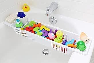 Bath Toy Organizer & Bathtub Storage Basket