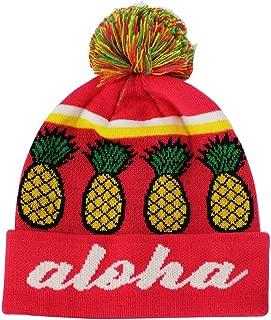 aloha hat with pineapple