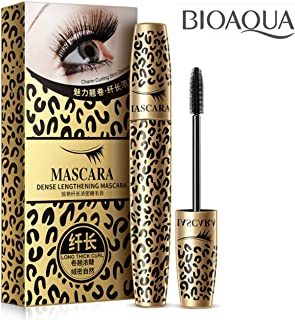 BIOAQUA Leopard Silk Mascara Long Thick Lashes Curl Spiral Flexible Brush Enlarges Your Hair Quick Removal Moisturising Nourishing