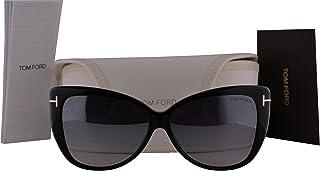 77b3991f6fa Tom Ford FT0512 Reveka Sunglasses Shiny Black w Smoke Mirror Lens 01C TF512