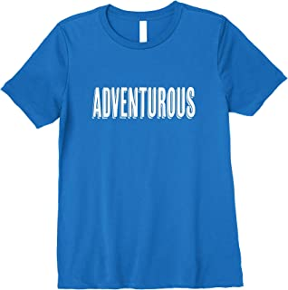 Superkids Insirational Tshirt for Kids: I am adventurous