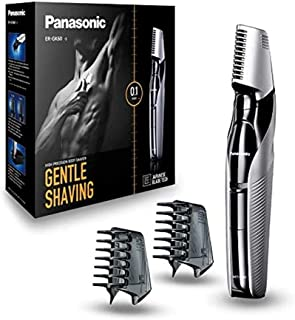 Panasonic Body Trimmer ER-GK60 with 3 attachments Electric Razor for Men for Gentle Skin, for Wet and Dry Shaving, Hair Tr...