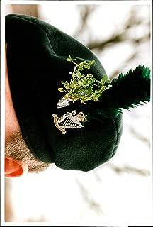 Vintage photo of Shamrock for Royal Irish Rangers on St Patrick39;s Day