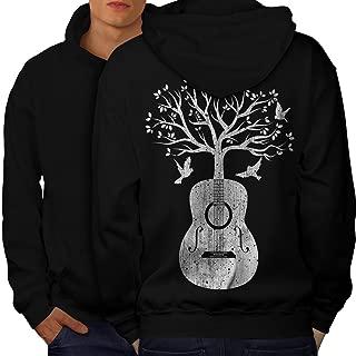 Wellcoda Roses and Guns Rock Womens Sweatshirt Band Casual Pullover Jumper