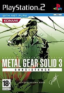 PS2 - Metal Gear Solid 3 Subsistence - [PAL EU]