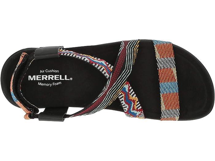 Merrell District Kalbury Cross Strap Multi Sandals