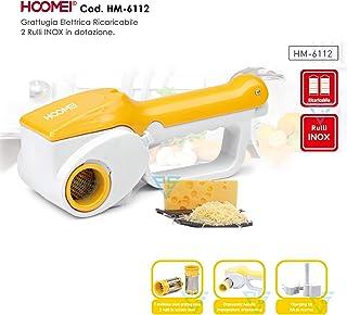 hoomei rallador eléctrica para queso hm-6112escamas