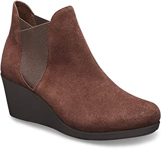 Crocs Women's Leigh Wedge Chelsea Boot