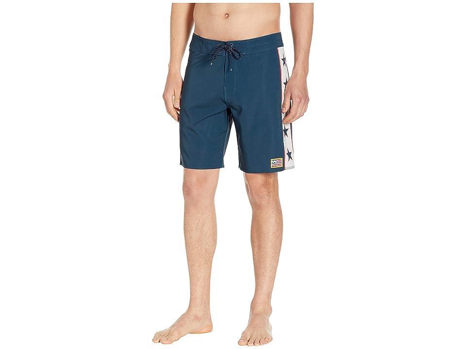Billabong D Bah Pro Boardshorts (Americana) Men's Swimwear, Multi