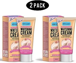 Underarm Whitening Cream,Lightening Cream Effective for Lightening & Brightening Armpit, Knees, Elbows, Sensitive & Private Areas, Whitens, Nourishes, Repairs Skin,Get Rid of Dark Fast (2 Pack)