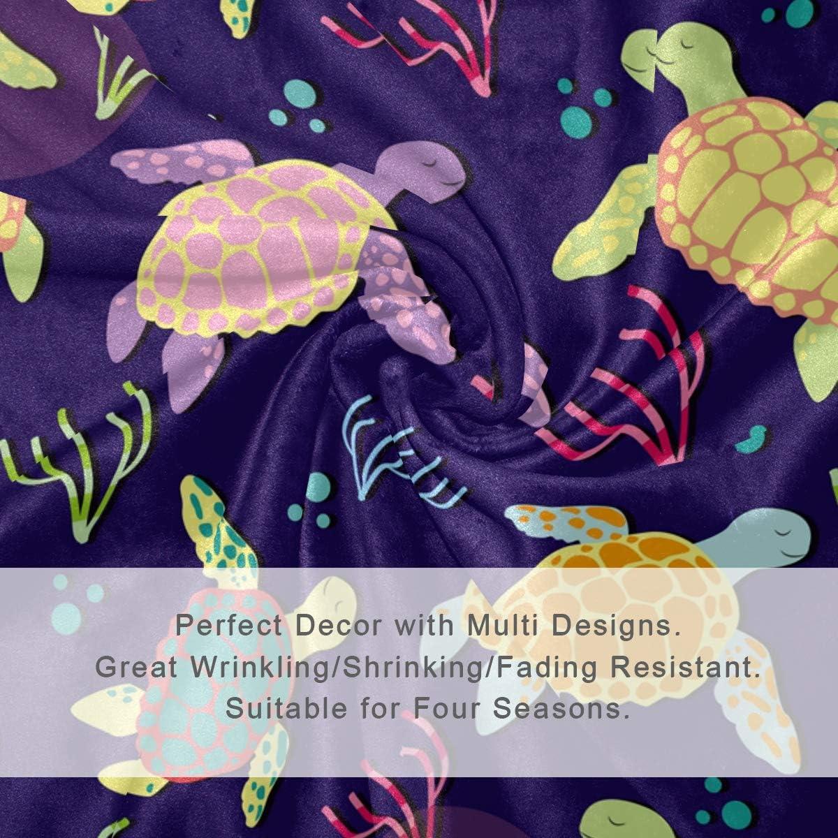 hengpai Couverture Douce pour lit et canapé Motif Chien 60 x 90 cm, Microfibre de Polyester, Multicolore 5, 60x90 in Multi8.