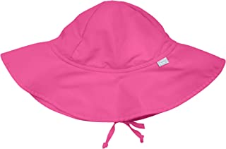 i play. by green sprouts Baby Girls' Brim Hat | All-Day UPF 50+ Sun Protection for Head, Neck, & Eyes