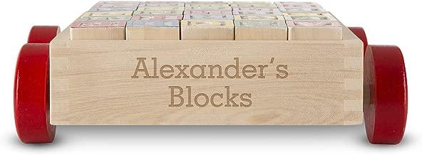personalised wooden blocks
