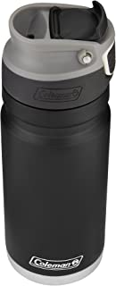 Coleman Recharge AUTOSEAL Insulated Stainless Steel Thermal Mug, Black, 17 oz.