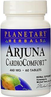 Planetary Herbals Arjuna Cardio Comfort Tablets, 460 mg, 60 Count