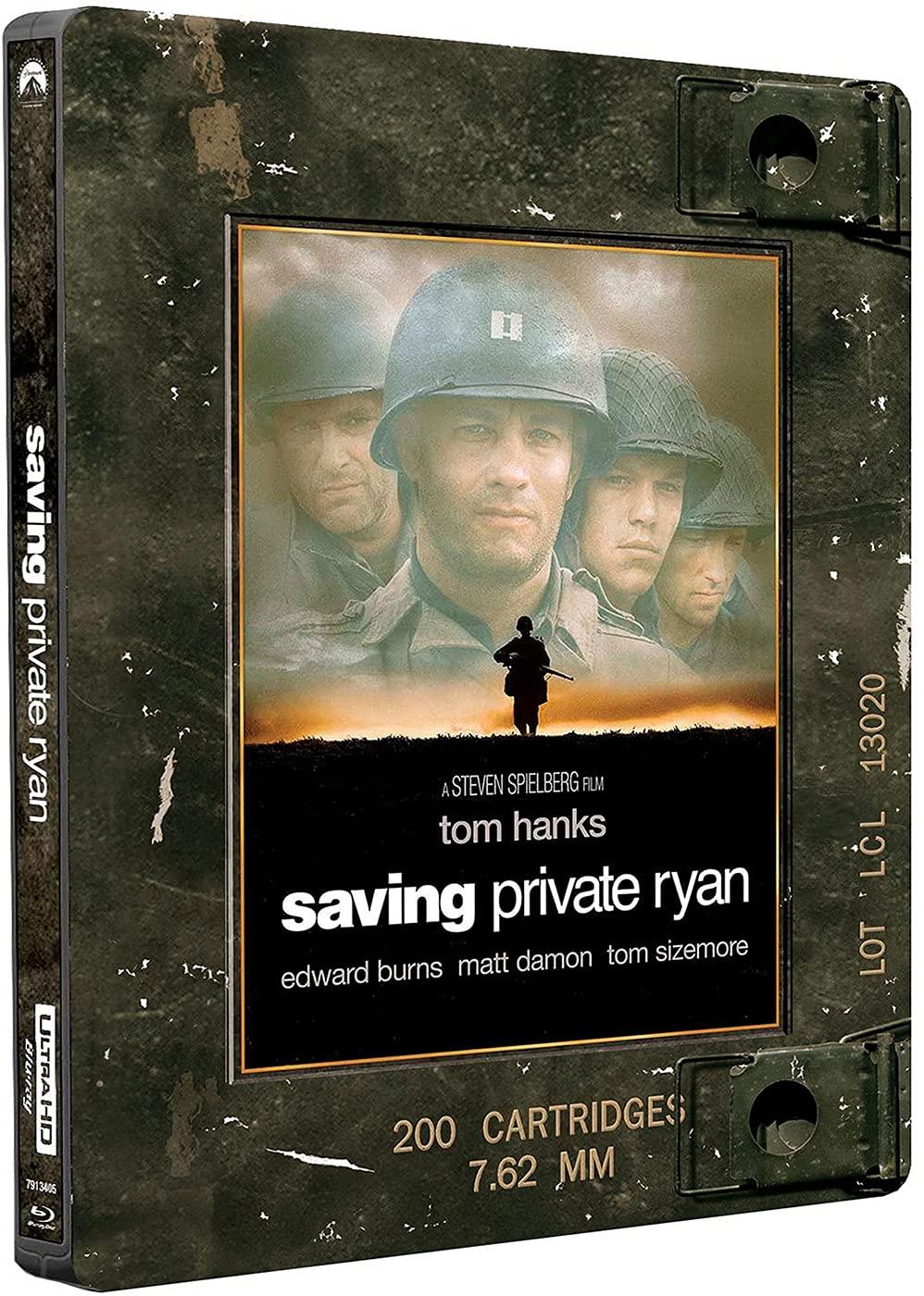 Salvar al soldado Ryan (Steelbook) [Blu-ray]