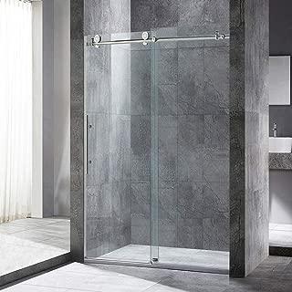 WOODBRIDGE CHROE Chrome Frameless Sliding Shower, 44