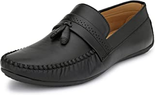 FENTACIA Men Tassel Loafers with Big Size(UK6-12)
