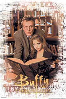 Pyramid America Buffy The Vampire Slayer Giles Library 90s TV Show Series Horror Cool Wall Decor Art Print Poster 12x18