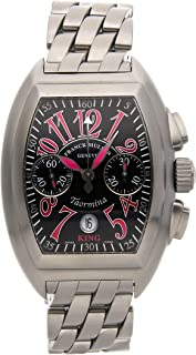 Franck Muller Conquistador Mechanical (Automatic) Black Dial Mens Watch 8005 CC King (Certified Pre-Owned)