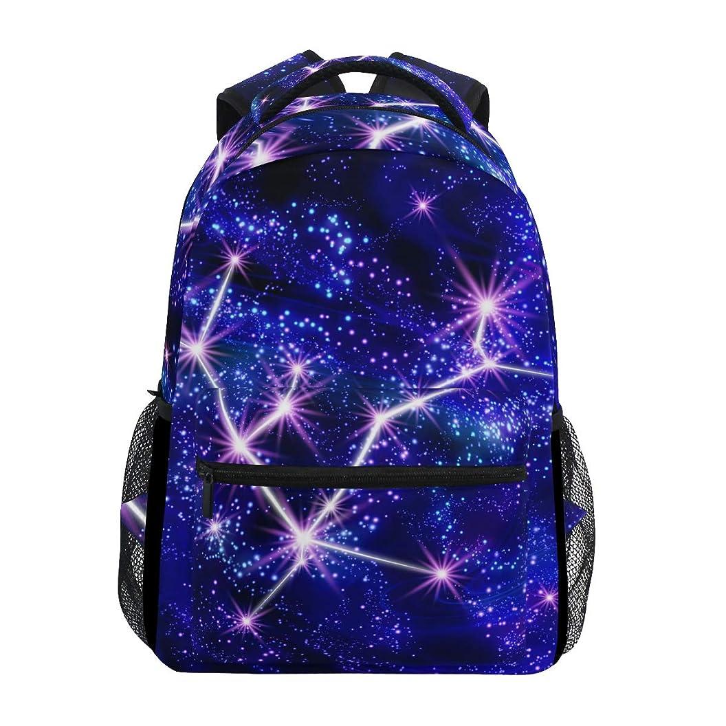 細部ほとんどないこだわりマキク(MAKIKU) リュック レディース 大容量 軽量 リュックサック メンズ 高校生 A4 中学生 小学生 通学 星座 星柄 宇宙柄
