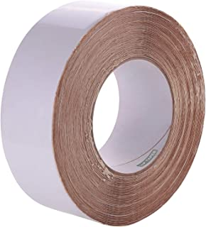 """LLPT Sealant RV Repair Butyl Tape White 2"""" x 50 Feet Roof Patch RV Rubber Sealing Tape Weatherproof Strong Curling Resista..."""