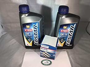 Suzuki Oil Change Kit for DF175 with 9 quarts of Oil and 16510-96J10 Filter