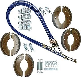 AB Tools_URB Brake Shoe & Cable Kit for Indespension Goods Trailer GL35106 GL35126 3500kg