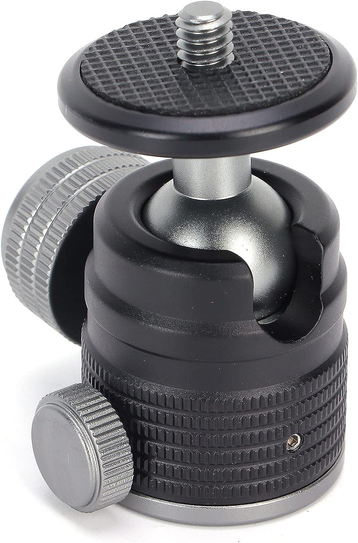 Gaeirt Mini Max 78% OFF Ball specialty shop Head 56.5mm 36 Rotate 2.2in Ballhead Panoramic