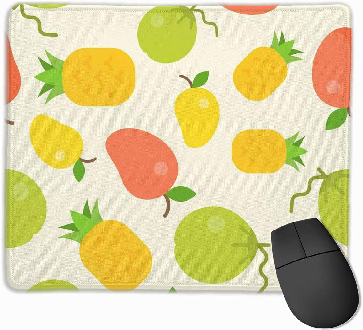 Small Mouse Pad Tropical Fixed price for sale Fruit Pattern Seamless 4 years warranty Coconut Pineappl