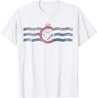Cincinnati Flag Ohio T-Shirt Men Women Kids Gift
