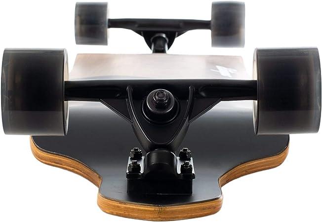 Retrospec Tidal 41 Inch Drop Down Longboard Skateboard Complete 41 Inch Black Amazon De Sport Freizeit