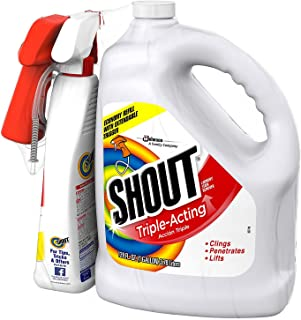 Shout Stain Remover with Extendable Trigger Hose -128 Oz + 22 Oz. (1)