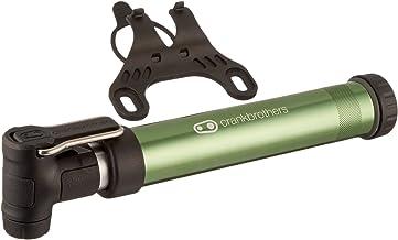 Crankbrothers Gem Bike Hand Pump - Short/Long Dual Piston Pump, Presta/Schrader, High Volume and High Pressure Hand Pump