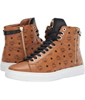 MCM - High Top Lace-Up Sneaker