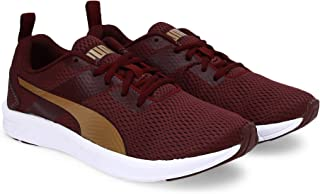 Puma Women's Meteor Nu Wn S Idp Vineyard Wine-Rose Go Running Shoes