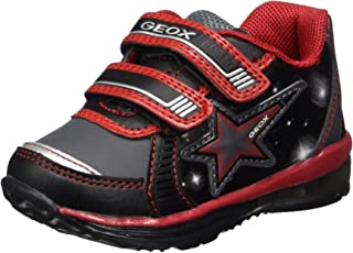 GEOX Kids Boys Todo Leather Low Top Tennis Shoes US