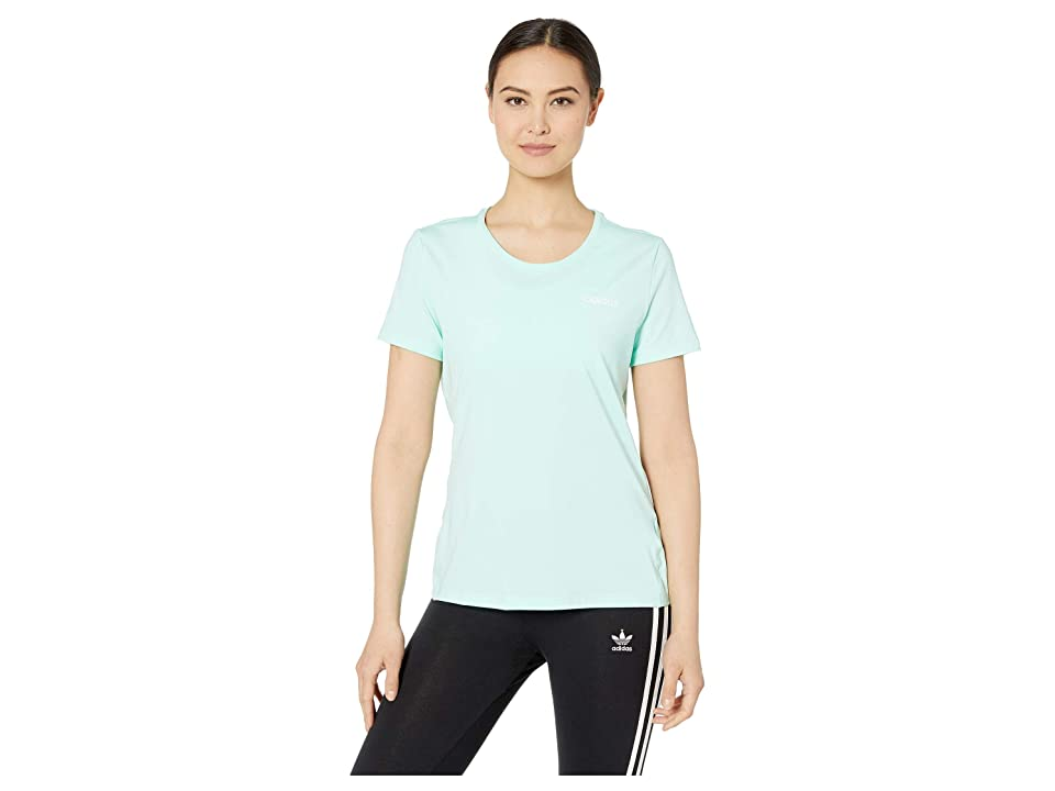 adidas Designed-2-Move Solid Tee (Clear Mint) Women