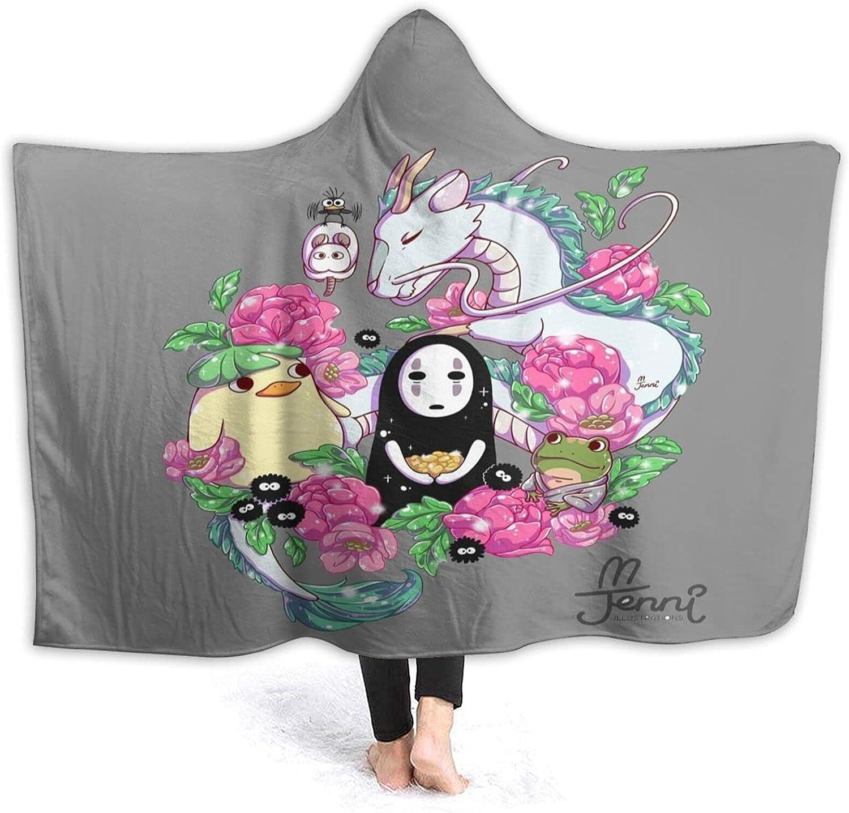 Studio 2021 Ghibli Hooded Blanket Wearable with Hood Fleece supreme -
